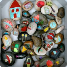 Story stones for narrative therapy