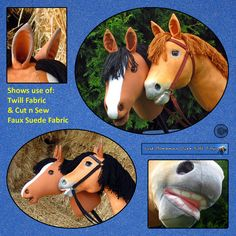"""Sewing Pattern PDF Hobby Horse """"Wish for a Pony"""" KidsToy or Keepsake Full Sized Pattern pieces Instructions for Hobby Horse & Bridle Sewing Pattern PDF Hobby Horse Wish for a by JustBananasOverToys Chair Tips, Stick Horses, Horse Bridle, Hook And Loop Tape, Hobby Horse, Horse Head, Stuff To Do, Things To Sell, Donkey"""