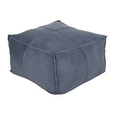 These sturdy, dependable poufs are made to be utilized both decoratively and practically. They are made to be a part of your home and to be lived with and lived on by you and your family.