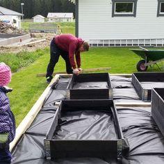 Raised Vegetable Garden Beds Can Be A Great Gardening Option – Handy Garden Wizard Veg Garden, Vegetable Garden Design, Garden Boxes, Edible Garden, Summer Garden, Building A Raised Garden, Raised Garden Beds, Raised Beds, Dream Garden