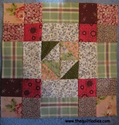 52 Weeks of Quilt Pattern Blocks - Week 13 free quilt pattern Fair and Square