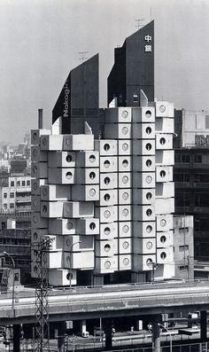 Nakagin Capsule Tower - Metabolist