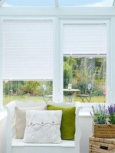 Matt White Perfect Fit Venetian Blind - 25mm Slat from conservatory blinds 2go