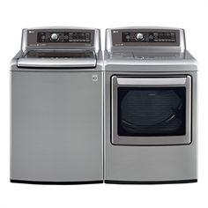 LG Appliances WT5680HV-DLEX5780VE Washer and Dryer Set