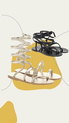 Ancient greek sandals - Sandali Ofis in pelle Ankle Wrap Sandals, Lace Up Sandals, Open Toe Sandals, Suede Sandals, Brown Sandals, Strap Sandals, Braided Leather, Leather And Lace, Braided Sandals