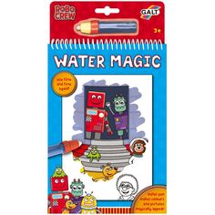 Galt Water Magic robots - kleuren met water