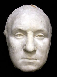 October of 1785 a life mask and a life bust were made of George Washington at Mount Vernon.