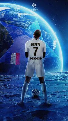 Kylian Mbappe piłkarzem z księżyca PSG Liga Mistrzów France Football, World Football, Neymar Football, Sport Football, Best Football Players, Soccer Players, Psg Champions League, Barca Foot, Mbappe Psg
