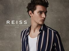 Otto Lotz stars in the Spring/Summer 2017 campaign of REISS, shot by Barry Craske and styled by Dominic Shearer. Shop REISS HERE! The post REISS Spring/Summer 2017 Campaign appeared first on Fucking Y
