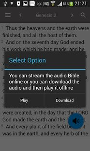 King James Bible - KJV Offline- screenshot thumbnail