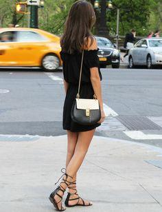 Le parfait look noir et blanc #26 (blog Akerstroms)