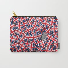 3D illustration of shiny metallic badges with British flag, england, english, britain...