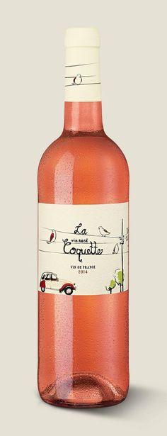 La Coquette Rosé #wine: