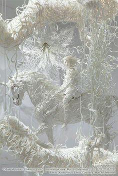 Amazing paper sculpture