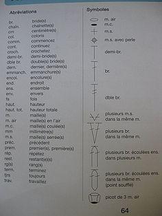 symboles crochet