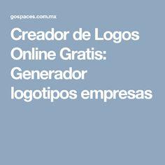 Creador de Logos Online Gratis: Generador logotipos empresas
