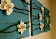diy wall decorations for living room - Bing Images