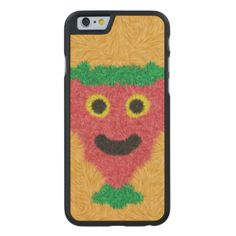 A colorful furry pattern with a face in the middle with a stylish and modern looks. You can also customize it to get a more personal look.