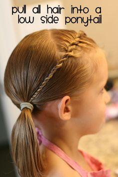Hair Today...hair ideas for little girls.