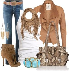 """""""Gucci Fringe & Kate Spade Snake Print"""" by casuality on Polyvore"""