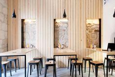 De pierre et de bois Matériaux authentiques et lignes fortes :  Andréane Galléty
