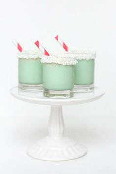 Christmas Cookie Ice Cream Shots