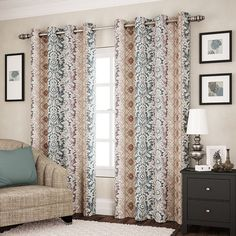 eclipse Shayla Thermaweave Room Darkening Curtain,