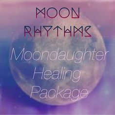 Moon Rhythms Moondaughter Healing Package includes access to all Moondaughter workshops starting August 1st, training to be a Certified Metaphysical Practitioner, and a Healing session of your choice! A crystal healing session, or custom Moon ceremony! by Moondaughter on Etsy, $295.00