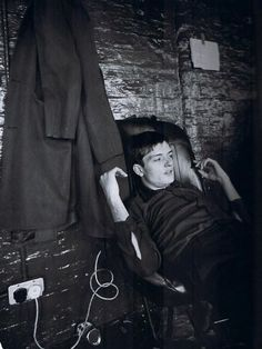 Ian Curtis (Joy Division). Photo by Kevin Cummins