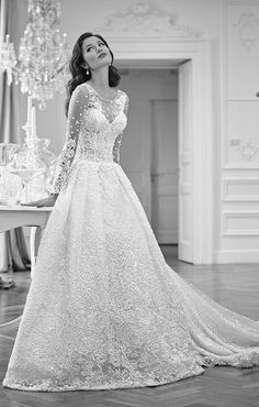 Bridal Runway Trends: Gorgeous Signore Maison Wedding Dresses;