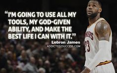 """""""Greatness is defined by how much you want to put into what you do."""" - Lebron James quotes, my fav one (From addicted2success """"Elevate Your Motivation with 26 of LeBron James's Greatest Quotes"""")"""