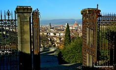 Florença - vista da Igreja de San Miniato al Monte