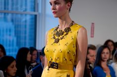 Necklace - Oscar de la Renta - Spring 2013 #odlr (photo by Xavi Menós)