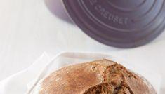 Pan con masa vieja en cocotte Tapas, Bread, Breakfast, Ethnic Recipes, Food, Bread Recipes, Oat Muffins, Homemade Breads, Pizza Dough