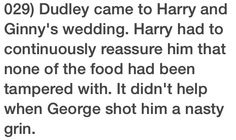 So I read this and think aww cute my wittle Georgie, but then I'm like OMG Fred isn't there like OMG I'm dead.