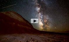 This IS paradise... Milky Way, Auroras & Thunderstorms Stun In New Time-Lapse Video
