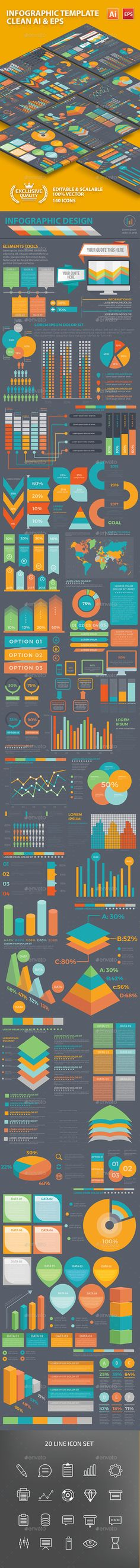 Infographic Template Design - Infographics Download here : https://graphicriver.net/item/infographic-template-design/18248948?s_rank=494&ref=Al-fatih