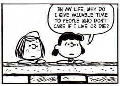 This Charming Charlie - a tumblr dedicated to pairing off Peanuts comic strips with The Smiths/Morrissey lyrics snippets.