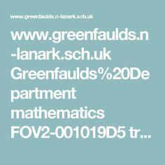 www.greenfaulds.n-lanark.sch.uk Greenfaulds%20Department mathematics FOV2-001019D5 transformations.swf