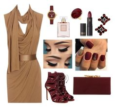 """Hit the club ( again dont forget to read the short segment down in the description)"" by kwkalyn on Polyvore featuring Alexander McQueen, Francesco Russo, Lipstick Queen, Jimmy Choo, Tory Burch, Anne Sisteron and Chanel"