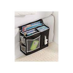 College Dorm Room Organizer 6 Pocket Bedside Storage Mattress Book Remote Caddy #RichardsHomewares