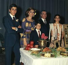 Norouz, Iranian New Year / Royal Family