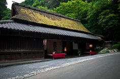 Scenery of the Sagano area in Kyoto, Japan