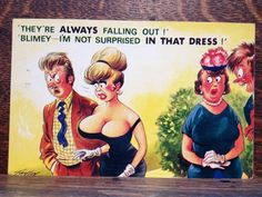Saucy Seaside Postcard - Comic Series - Bamforth No. 2533