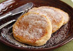 Gluten Free Apple Cider Doughnut Pancakes