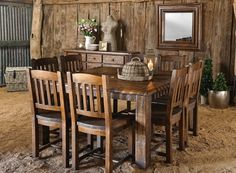 square dining table  Early Settler