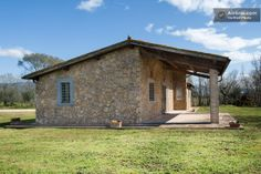 Typical stone cottage with a verandah for the warmest days