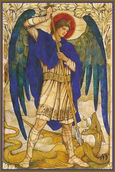 Prayer to Saint Michel Archange in French Angels Among Us, Angels And Demons, Catholic Art, Religious Art, Catholic Prayers, St Michael, Michael Angel, St John's Church, I Believe In Angels