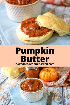 Pumpkin spice lovers will adore this easy five ingredient Slow Cooker Pumpkin Butter. It's like pumpkin pie in a jar without the guilt , then smeared on toast. Pumpkin Butter, Pumpkin Puree, Pumpkin Spice, Canning Recipes, Meat Recipes, Crockpot Recipes, Thanksgiving Recipes, Fall Recipes, Vegan Dessert Recipes