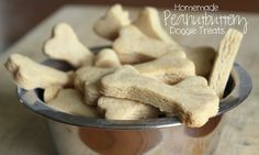 Sunny Days With My Loves - Adventures in Homemaking: Homemade Peanutbuttery Dog Treats